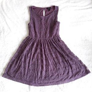 {2 for $20} H&M Purple Lace Dress